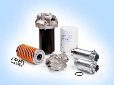Suction line filtre