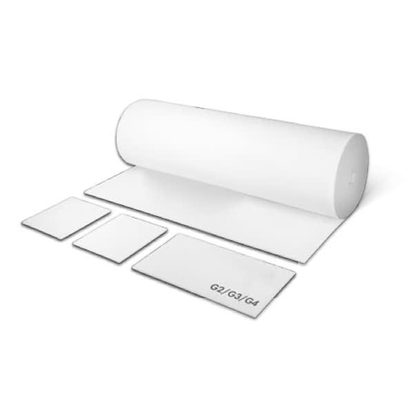 Rulle med materiale til ventilationsfilter der giver ren luft